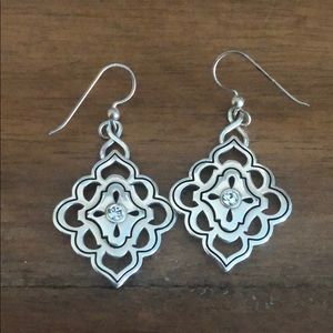 Brighton silver earrings